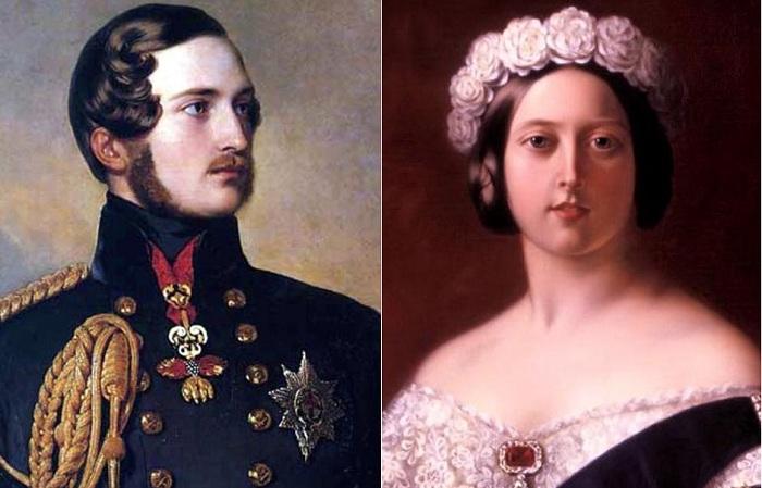 Принц-консорт Альберт и королева Виктория.   Фото: colors.life.