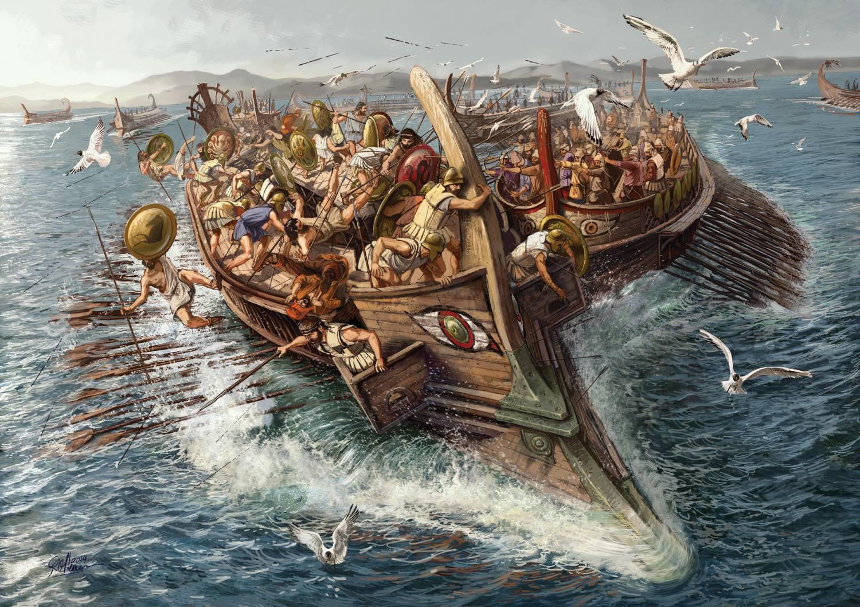 поликрат самосский король пиратов греция история пиратства отвратительные мужики disgusting men